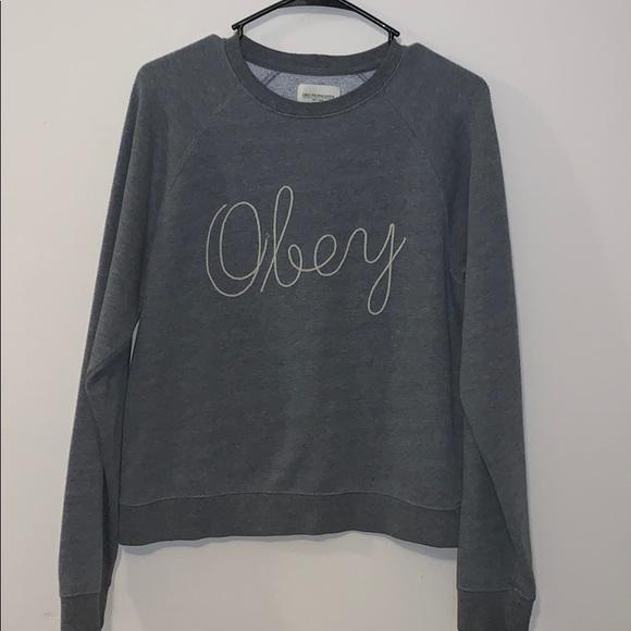 Obey Jackets & Blazers - Obey crewneck